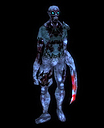 Undead zombie t