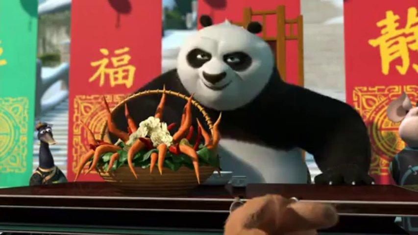 Kung fu panda Winterfest