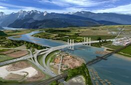 New Pitt River Bridge