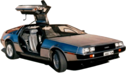 DeLoreanAustraliaLogo