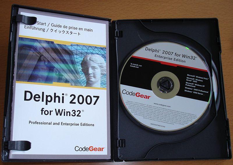 Delphi 2007 for Win32 | Delphi Programming | FANDOM powered by Wikia