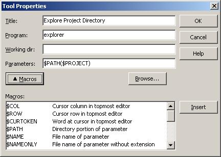 ExplorerProjectDirectory