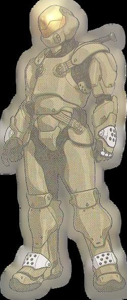 Marine Semi-Powered Combat Armor