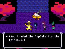 Spin Cake item