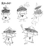 Ralsei artwork Temmie
