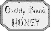Qb honey label