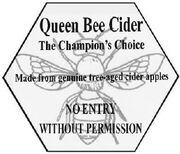 Queen bee sign