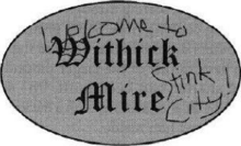 Withick Mire sign