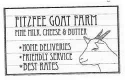 Fitzfee Goat Farm Sign