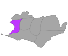 Map of Amethyst territory