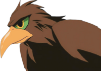 Bird form Enigmatic Giant (anime)