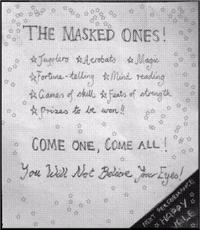 Masked Ones Leaflet