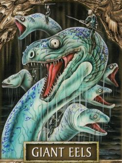 Giant eels