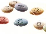 Toran fortune-telling stones