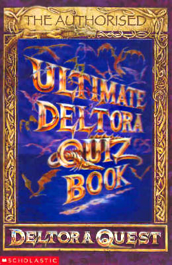 The Authorised Ultimate Deltora Quiz Book (cover)