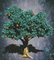 Gold bell tree