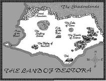 Endon's map of Deltora