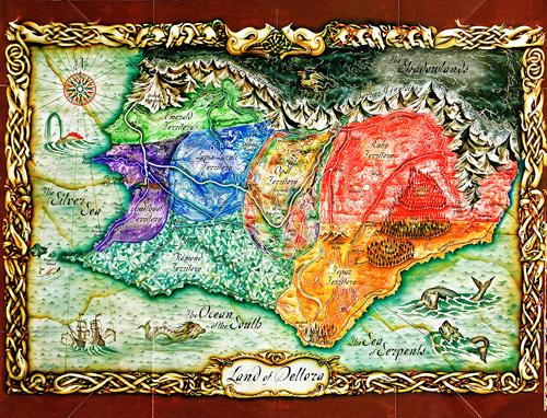 Map of Deltora500