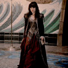 Savannah as the Minister for Magic