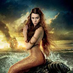 Savannah as a mermaid
