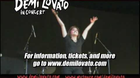 Demi Lovato - Summer Tour 2009
