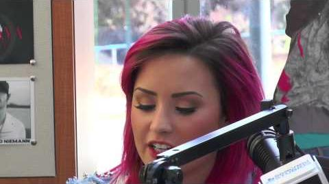 Demi Lovato Inspires Patients At Seacrest Studios