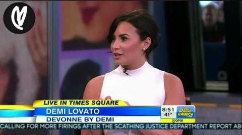 Demi Lovato on Good Morning America – March 12th, 2015 HD