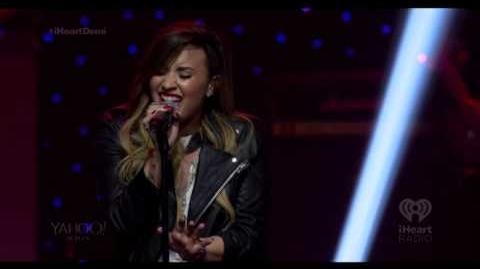 Demi Lovato - Give Me Love (iHeartRadio Live)
