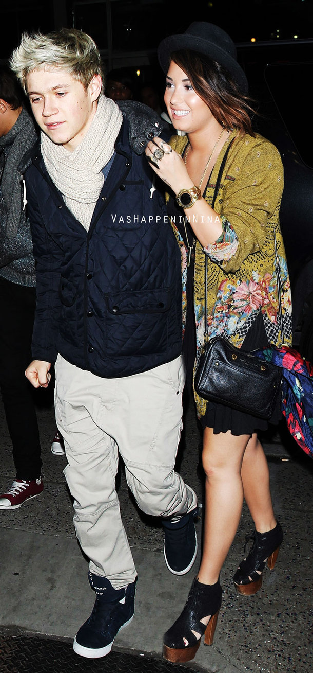 Niall Horan And Demi Lovato 2014