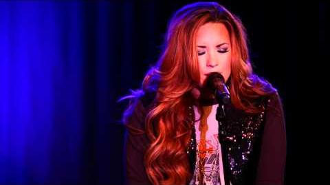 Demi Lovato Fix A Heart An Intimate Performance