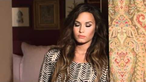 Behind The Scenes with Demi Lovato Latina Magazine Cover Sh