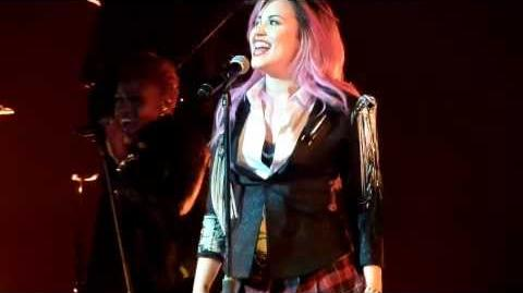"Demi Lovato ""Fire Starter"" Performance at Neon Lights Tour San Jose"