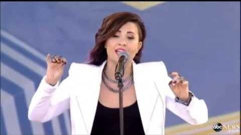Demi Lovato - Nightingale Live GMA 6 6 14 (HD)