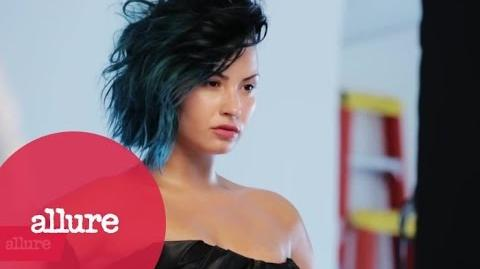 Demi Lovato's Allure Fashion Shoot