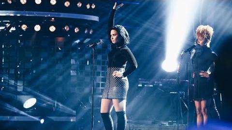 Demi Lovato - Confident (Live on Swedish Idol) - TV4