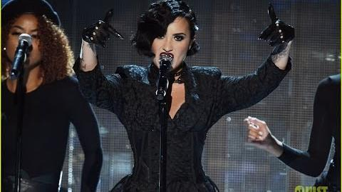 Demi Lovato Performs 'Confident' At The American Music Awards 2015