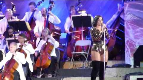Demi Lovato, Purple Rain - Boston Pops Fireworks Spectacular 2016