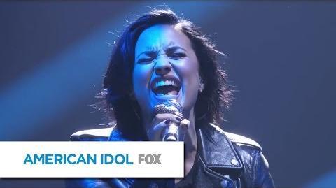 """Demi Lovato Performs """"Stone Cold"""" - AMERICAN IDOL"""