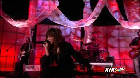 Demi Lovato - Get Back (Live On Ellen)