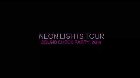 Demi Lovato - The Neon Lights Tour - Soundcheck Parties
