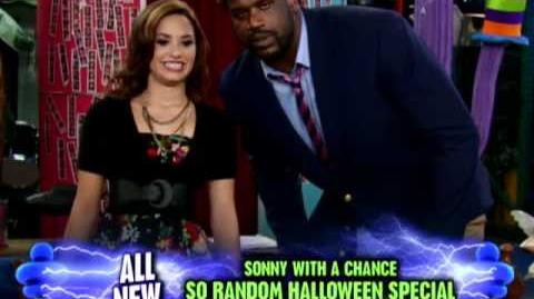 Sonny With A Chance So Random Halloween Shaq and Sonny Video