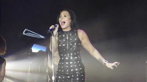 "Demi Lovato Covers Adele's ""Hello"" Seattle's Fall Ball"