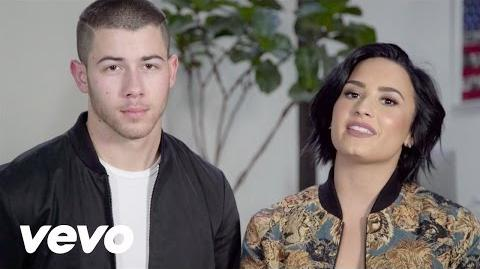 Demi Lovato - Honda Civic Tour Future Now Announcement with Nick Jonas