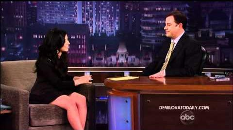 Demi Lovato Live On Jimmy Kimmel - March 22, 2010