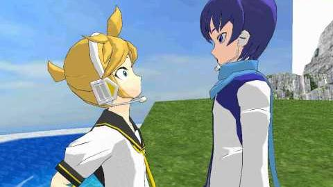 MMD Kaito wants to take Len to the gay bar