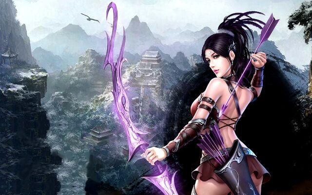 File:Beautiful-archer-girl-226046.jpg