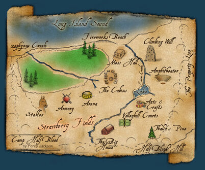 Camp half blood map