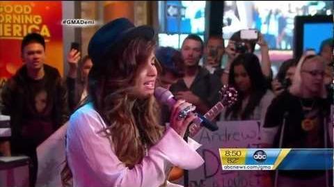 Demi Lovato - Skyscraper (Live At Good Morning America)