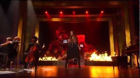 Demi Lovato - Skyscraper (Live At America's Got Talent)