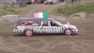 Zebra Hearse